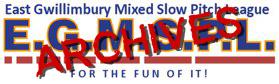 East Gwillimbury Mixed Slow Pitch League 2016 Season